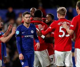 Coup de Blues pour Chelsea face à United. Goal