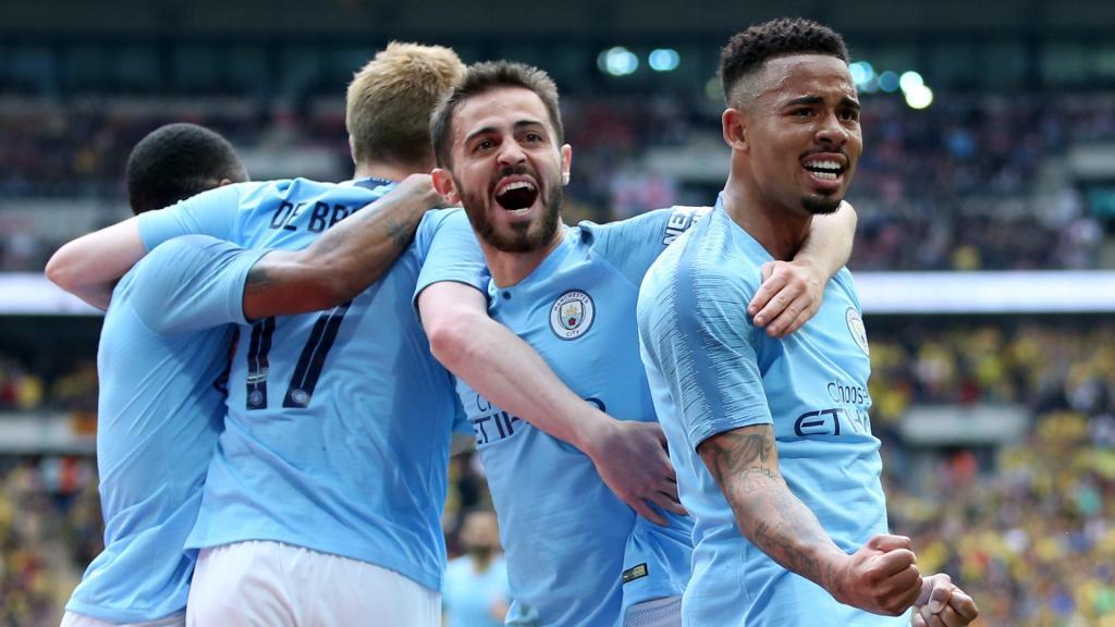 Manchester City Historisches Triple