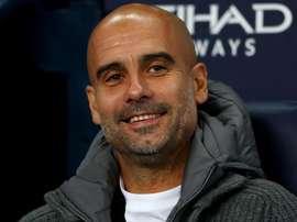 Manchester City Pep Guardiola. Goal