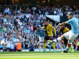 Manchester City travolgente: 5 goal in 18 minuti al Watford