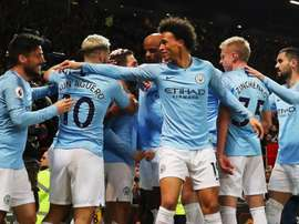 Guardiola and Man City break records in derby win at Old Trafford.