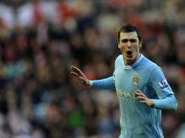 Manchester Citys Adam Johnson