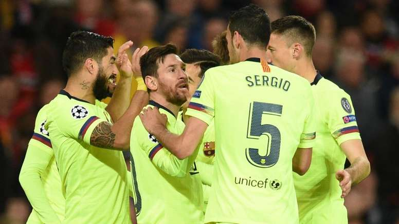 Barcelona vence a primeira sobre o United no Old Trafford, onde há 36 anos