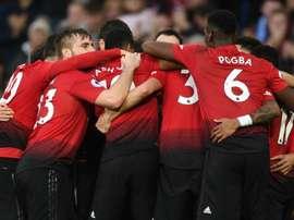 United était à la fête. Goal