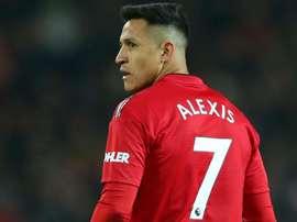 Manchester Uniteds Alexis Sanchez