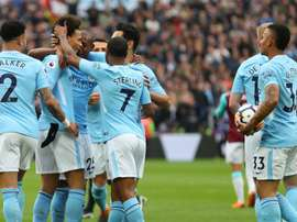 City have hit a century of goals this season. GOAL