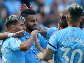 Pep Guardiola felt Man City's 8-0 thumping of Watford. GOAL