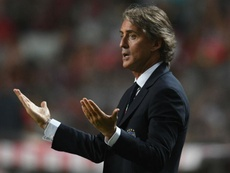 Mancini demands more from Italy forwards after Portugal loss. Goal