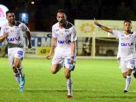 Mancuello Cruzeiro x Democrata. Goal
