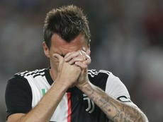Mandzukic left out by Juventus amid Qatar transfer speculation. AFP
