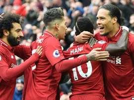 Salah, Mané e Firmino brilham em um Liverpool mais equilibrado na Champions League