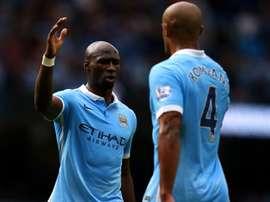 Manchester City, fracture du nez pour Mangala ? Goal