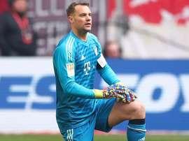 Le gardien allemand est sorti sur blessure le dernier match. Goal