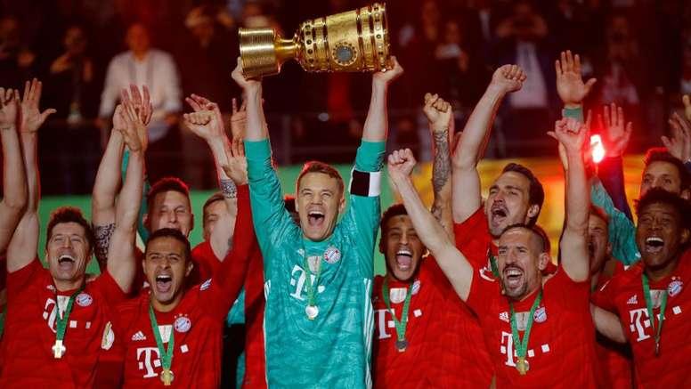 Bayern conquista Copa em dia de recorde de Kovac e despedida de Robben e Ribery. Goal