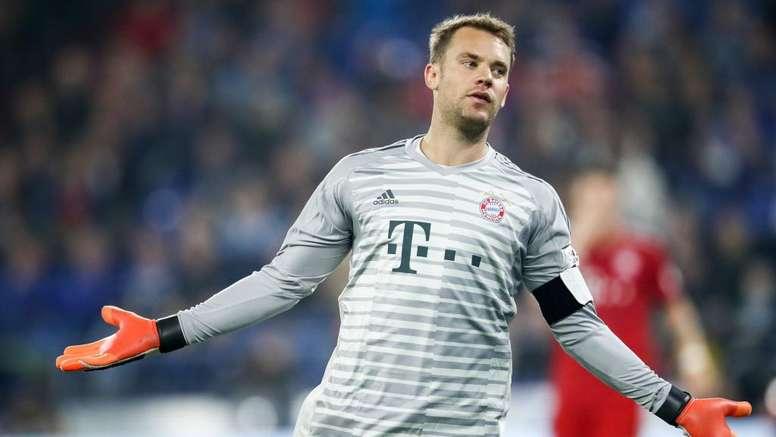 Neuer corre contra o tempo para retornar diante do Liverpool pela Champions League