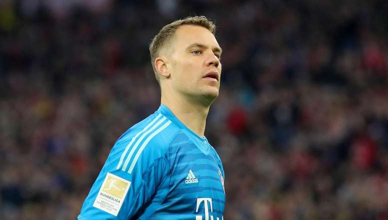 Bayern lose Neuer for two weeks