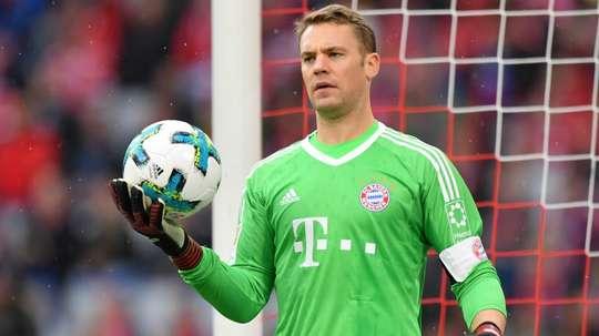 Neuer has not been seen since September. GOAL