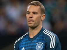 Neuer risponde a ter Stegen. Goal