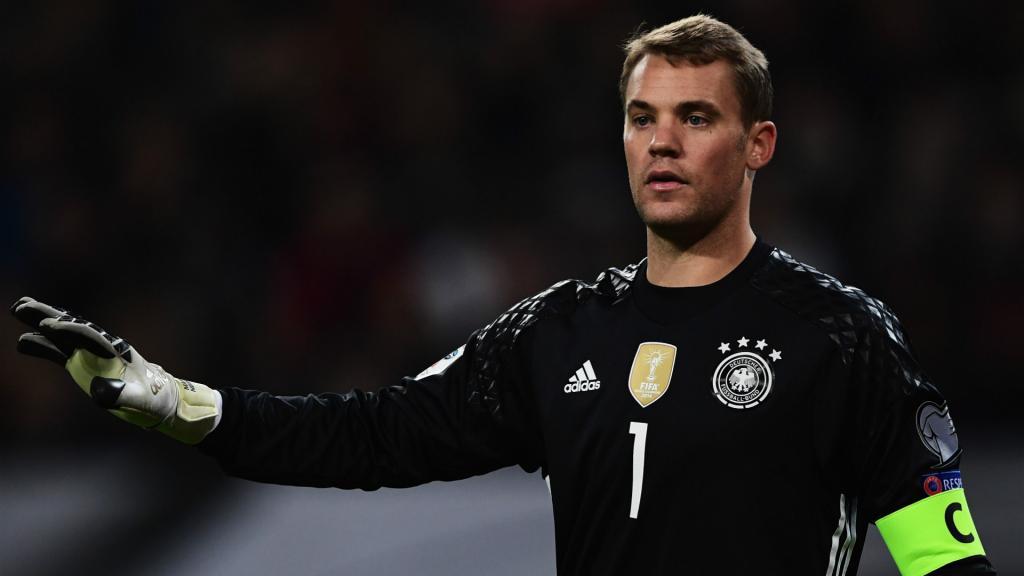 Mundial2018: Manuel Neuer nos 27 pré-convocados da Alemanha