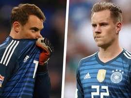 Beckenbauer comparou Ter Stegen e Neuer. Goal