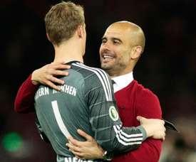 Guardiola quis transformar Neuer em meio-campista no Bayern