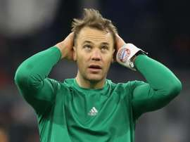 Neuer has been struck down by a stomach bug three days before Bayern's next match. GOAL