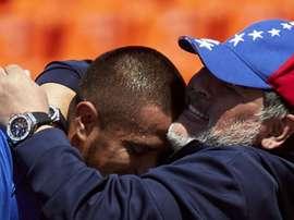 Maradona claims first win as Gimnasia boss. GOAL