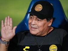 Maradona pledges to give heart and soul to new club Gimnasia