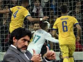 Maradona defendeu Lucas. Goal