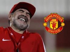 Maradona 'cava' vaga no Manchester United: sou o homem certo