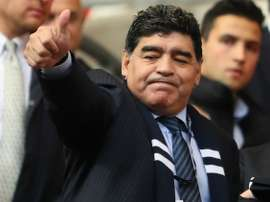 Clube do Chile recusou Maradona. Goal