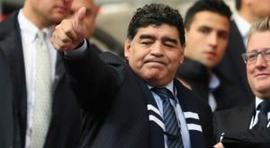 Clube do Chile recusou Maradona. Goal