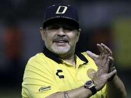 Maradona continua. Goal