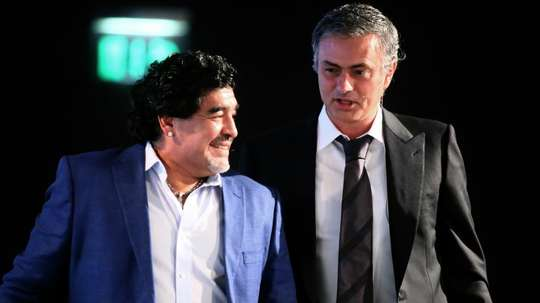 Diego Maradona dies: He would always call me after big defeats – Mourinho