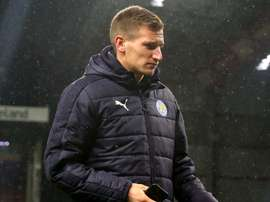 Leicester City's Marc Albrighton. Goal