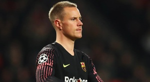 Ter Stegen's Barcelona have drawn four of their past five matches in all competitions. GOAL
