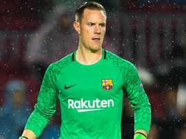 O goleiro do Barça: Mar-André ter Stegen. Goal