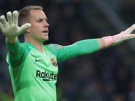 Ter Stegen falou do Barcelona e da sua profissão. Goal