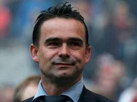 Marc Overmars has extended his stay with Ajax until 2024. GOAL