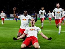 Le RB Leipzig a repris l'entrainement. AFP