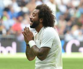 Marcelo played left-back as his team lost to Girona on Sunday. GOAL