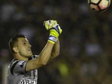 Marcelo Grohe Lanus Gremio Final Copa Libertadores. Goal
