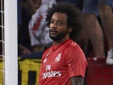 Marcelo está machucado. Goal