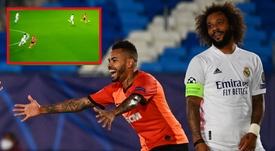 Marcelo vira alvo de críticas no Real. EFE