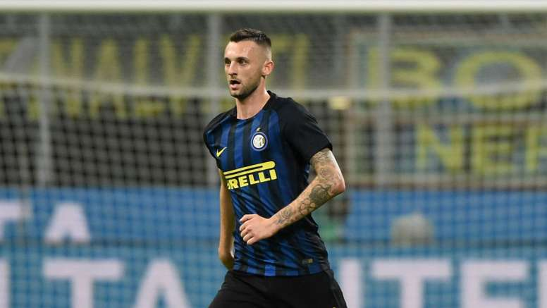 Brozovic in action for Inter. Goal