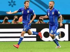 Marchisio rende omaggio a De Rossi. Goal