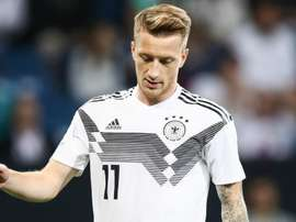 Reus will play no part against Russia. GOAL