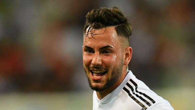 Marco Richter scored twice for Germany Under 21s. GOAL