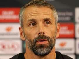 L'allenatore del Gladbach parla dopo il pareggio con la Roma. Goal