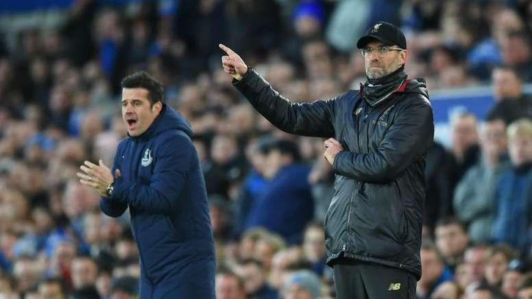 Liverpool play Everton. GOAL
